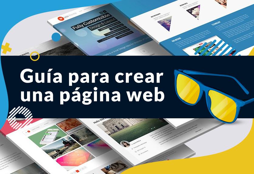 guia para crear una pagina web